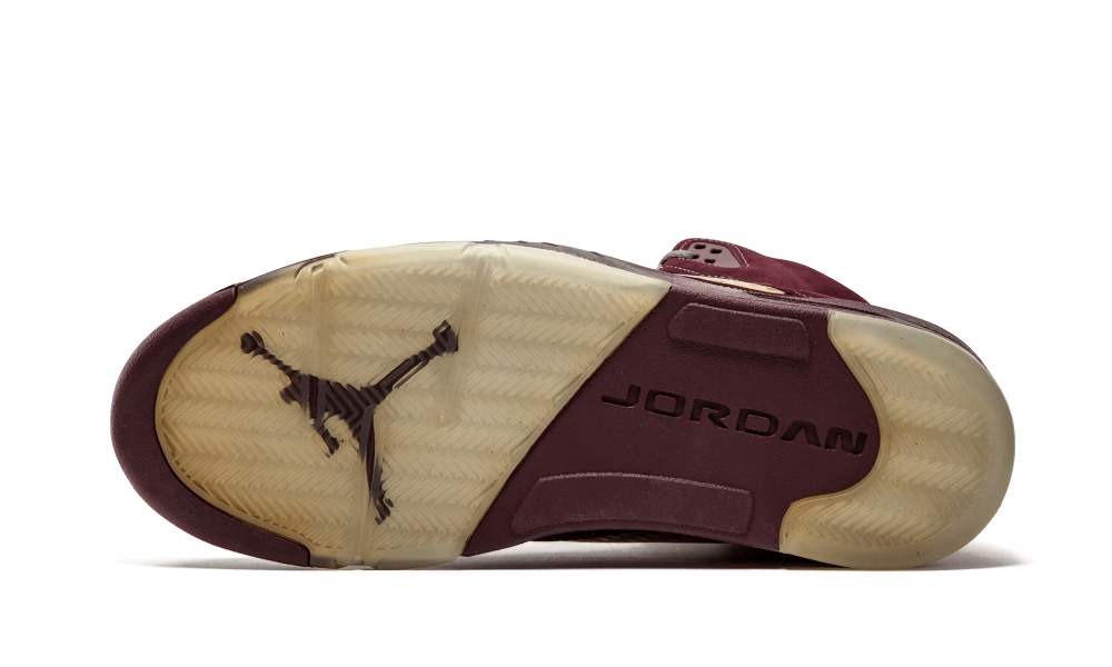 Air Jordan 5 LS Deep Burgundy 314259-602