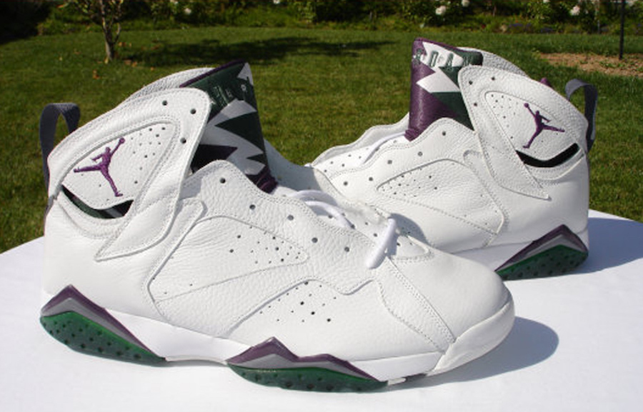 Air Jordan 7 Ray Allen Bucks Home