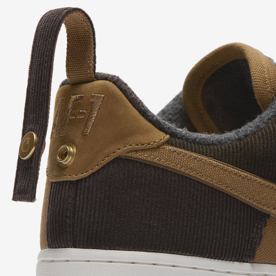 Carhartt Nike Air Force 1 AV4113-200 Release Date
