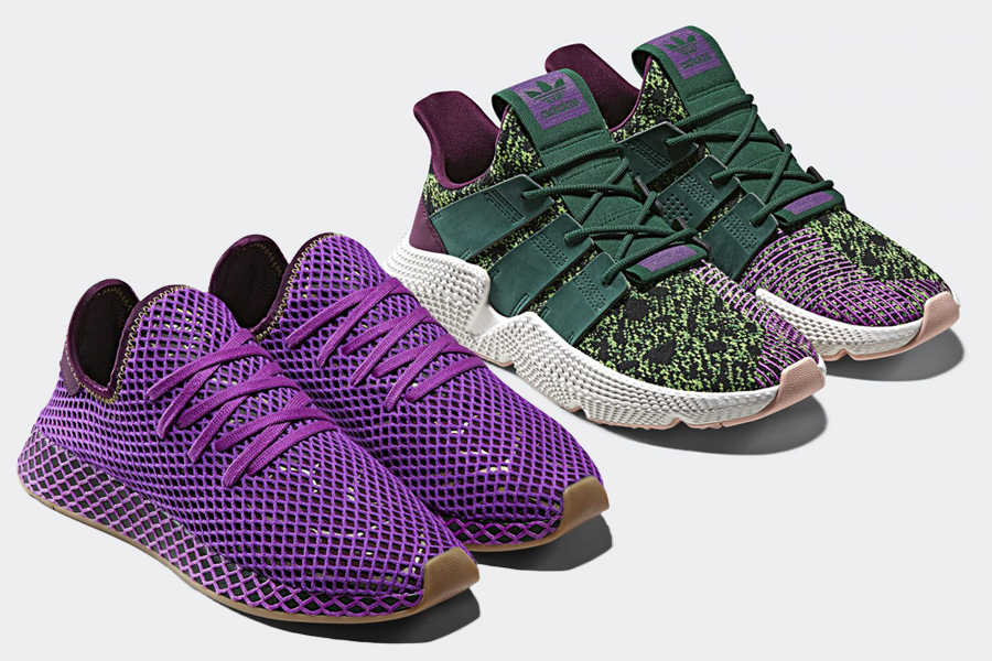 Dragon Ball Z adidas Deerupt Son Gohan D97052 adidas Prophere Cell D97053  Release Date 04341ee19