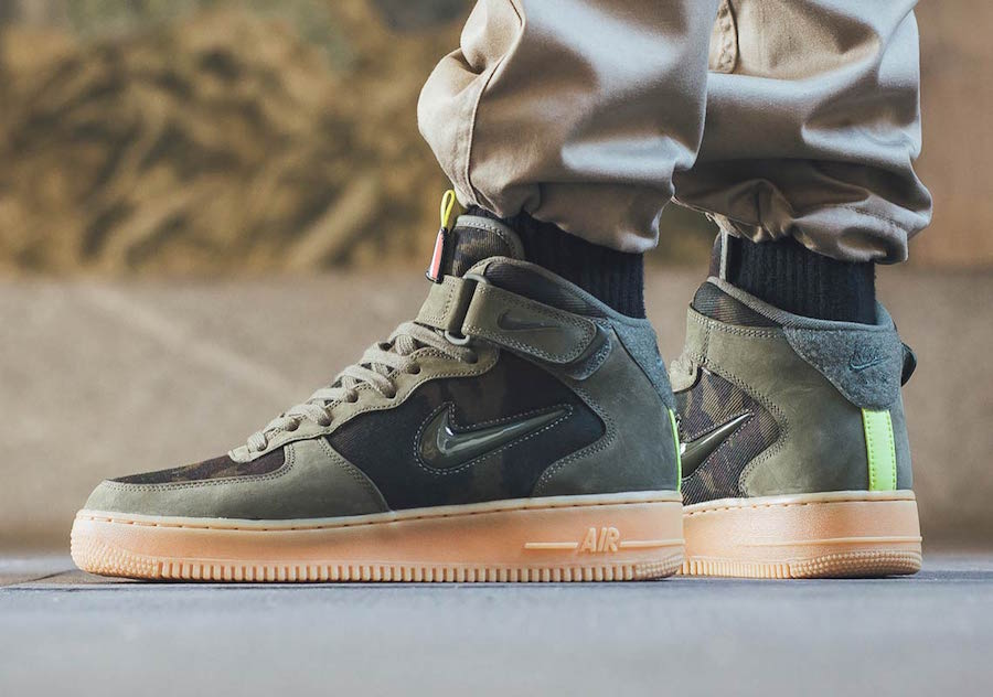 Nike Air Force 1 Mid Jewel Country Camo France AV2586-200