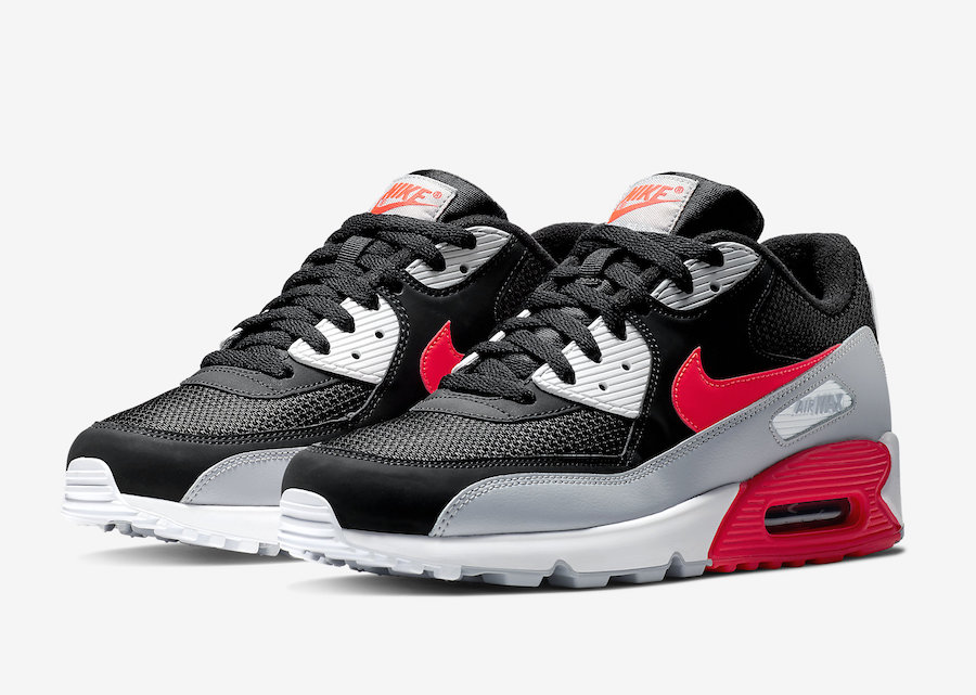 Nike Air Max 90 Black Infrared AJ1285-012 Release Date