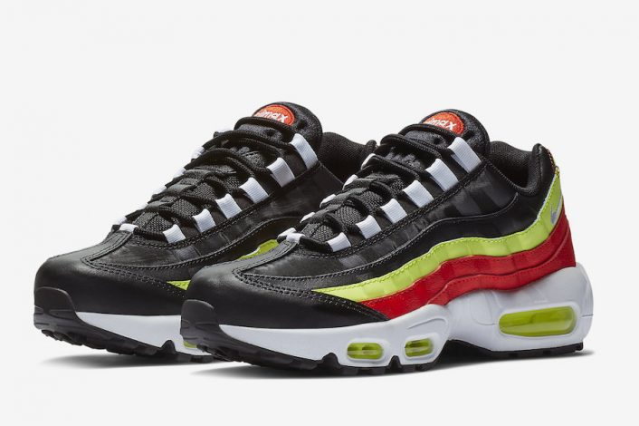 Nike Air Max 95 Black Neon Red 307960-019 Release Date