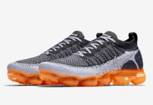 Nike Air VaporMax Mango Safari Black Silver Orange 942842-106 Release Date