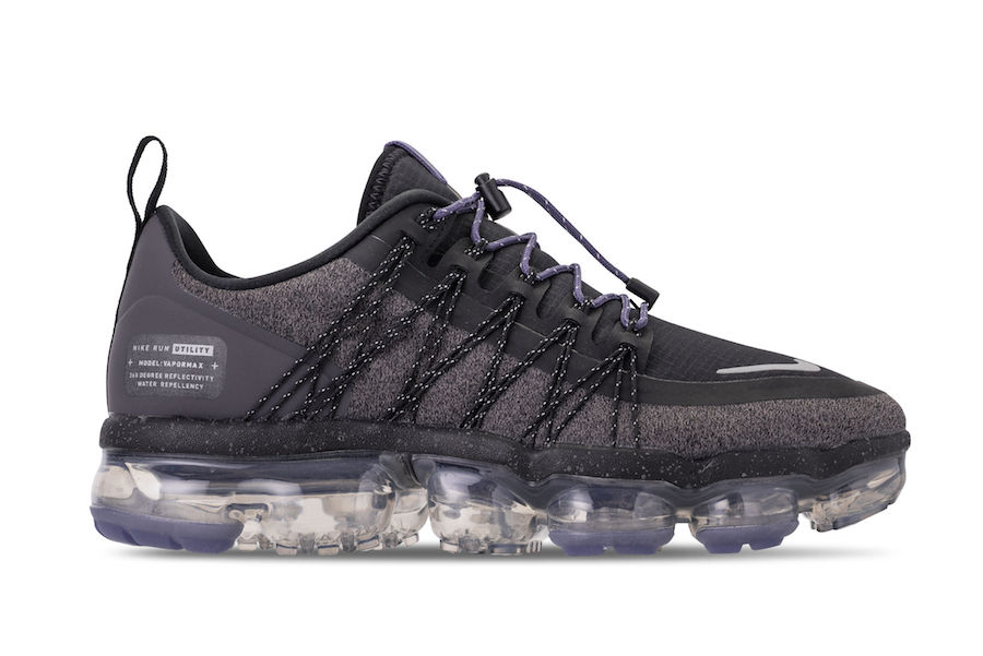 b87ce8388bfd Nike Air VaporMax Run Utility Black Reflective AQ8811-001 Release Date