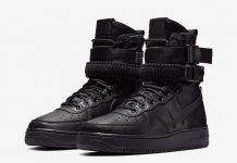 Nike SF-AF1 Triple Black Leather 857872-005 Release Date