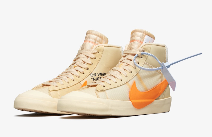 Off-White Nike Blazer Mid All Hallows Eve AA3832-700 Release Date Price