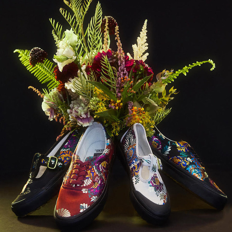 Opening Ceremony x Vans Satin Floral Collection
