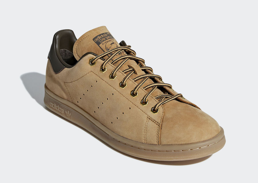 adidas Stan Smith Wheat Work Boots B37875 Release Date