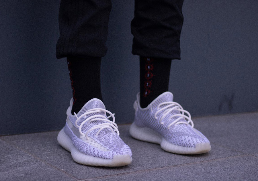 adidas Yeezy Boost 350 V2 Static On-Feet