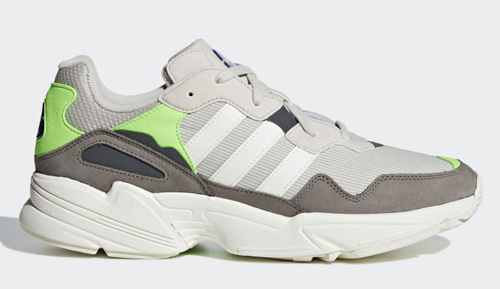 d2d8e9de08e9 adidas Yung 96. Color  Clear Brown Off White-Solar Green Style Code  F97182  Release Date  September 20