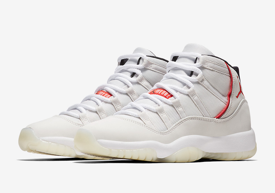 Air Jordan 11 GS Platinum Tint 378038-016 Release Date Price
