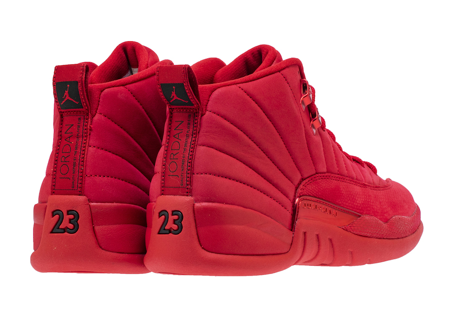 3b8cfaa9 Air Jordan 12 Bulls Gym Red Black 130690-601 - Sneaker Bar Detroit