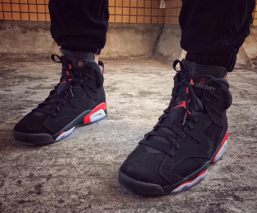 771d771954f16 Air Jordan 6 Black Infrared OG 2019 Release Date - Sneaker Bar Detroit
