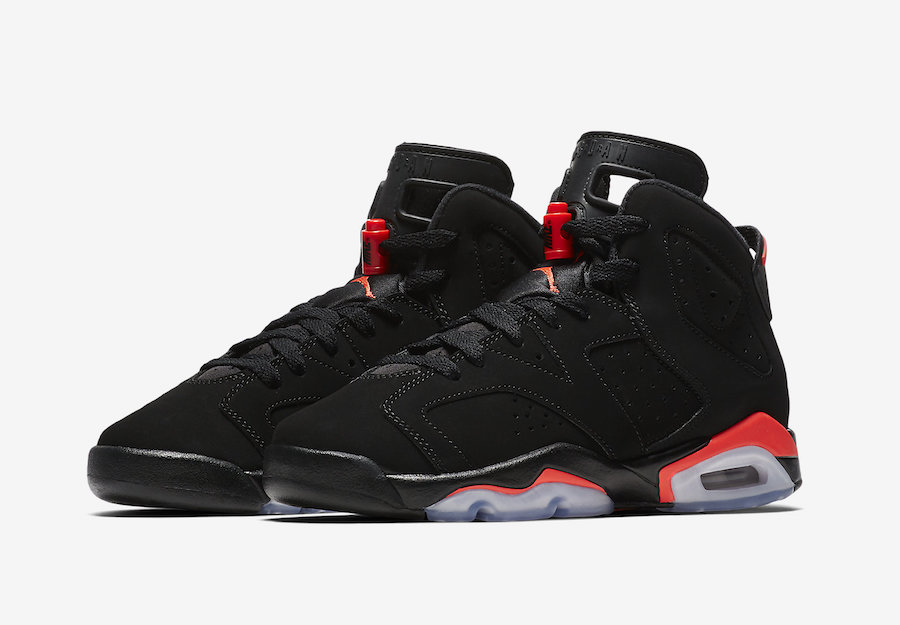Air Jordan 6 Infrared GS Grade School 384665-060 Release Date