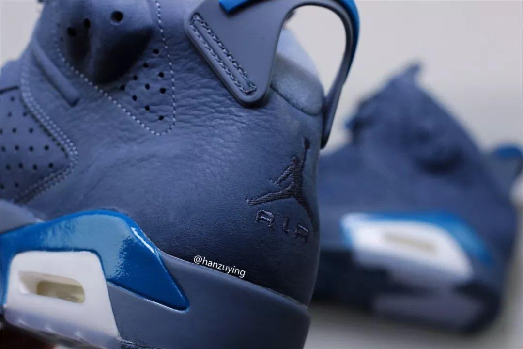 super popular 8032f 4d356 Air Jordan 6 Jimmy Butler Diffused Blue 384664-400 - Sneaker ...