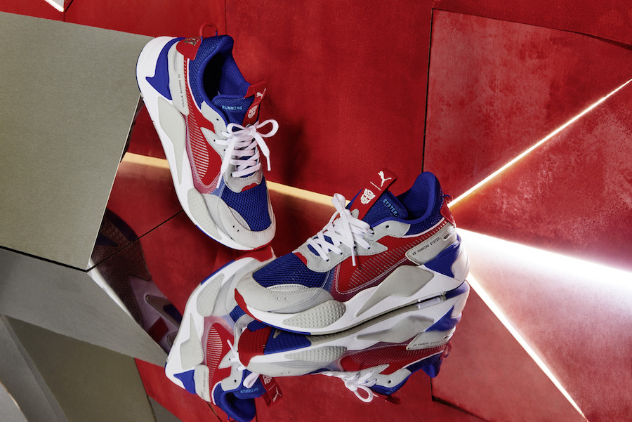 Hasbro PUMA RS-X Transformers Release Date