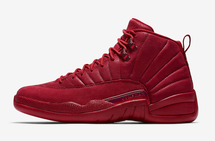 4f26df03a Air Jordan 12 Bulls Gym Red Black 130690-601 - Sneaker Bar Detroit