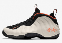 Nike Air Foamposite One Sail Habanero Red Black 314996-101 Release Date