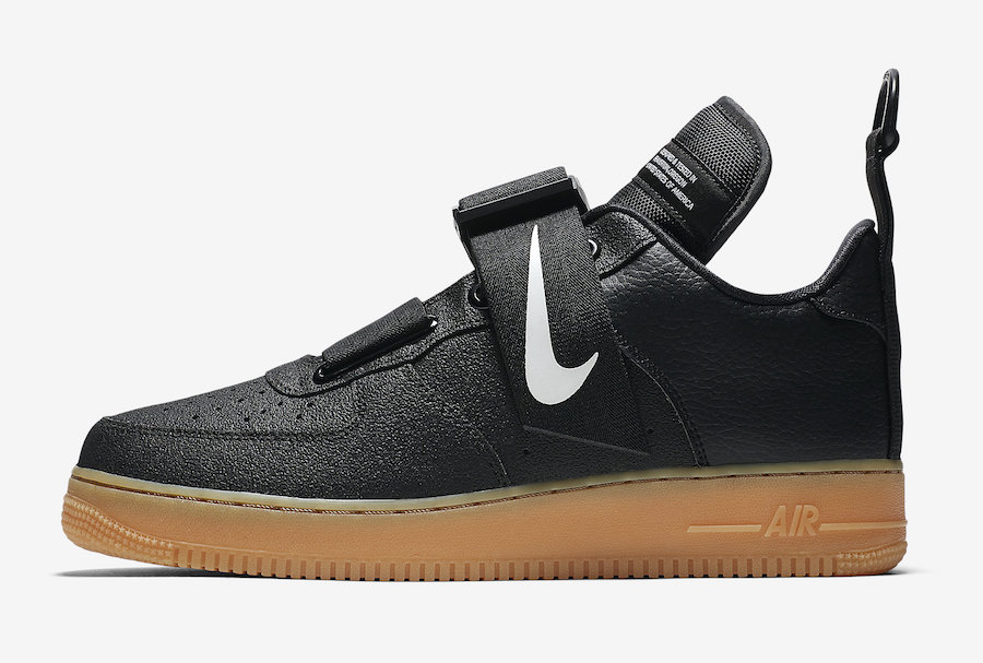 Nike Air Force 1 Utility Black Gum AO1531-002 Release Date