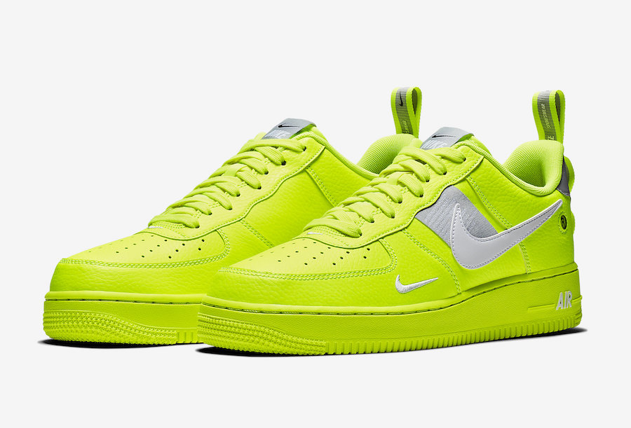 Nike Air Force 1 Utility Volt AJ7747-700 Release Date