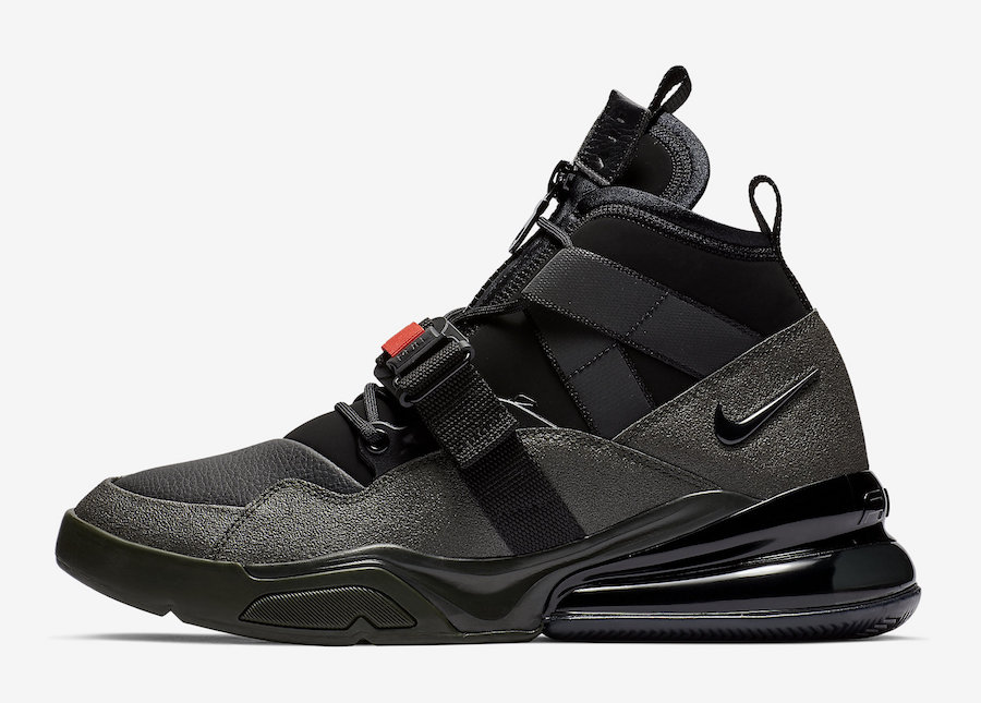 Nike Air Force 270 Utility Sequoia AQ0572-300 Release Date