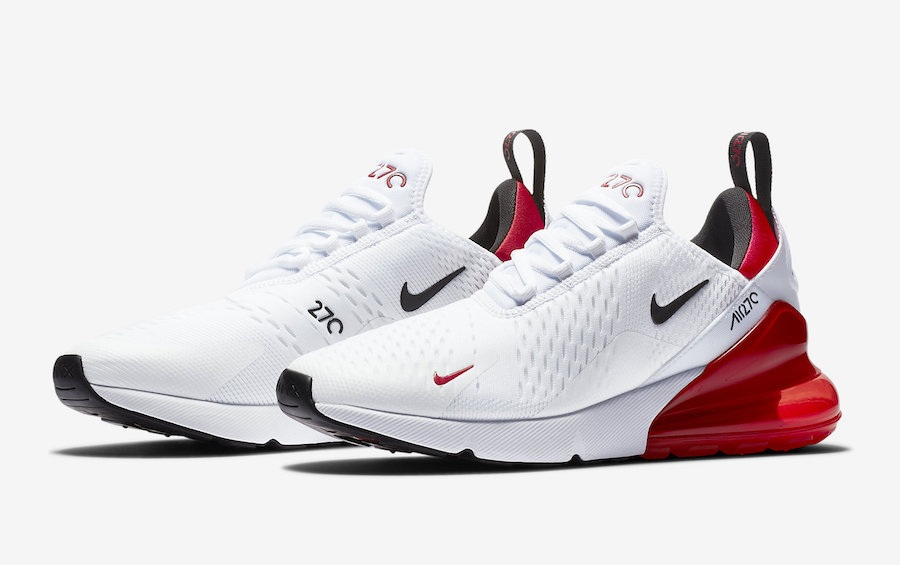 Nike Air Max 270 White University Red BV2523-100 Release Date