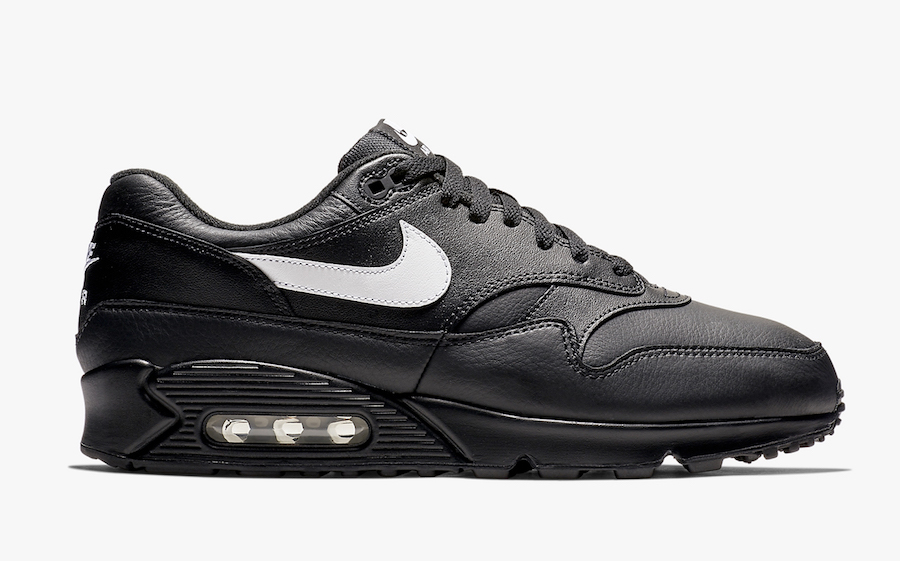 Nike Air Max 901 Black Leather AJ7695 001 Release Date SBD