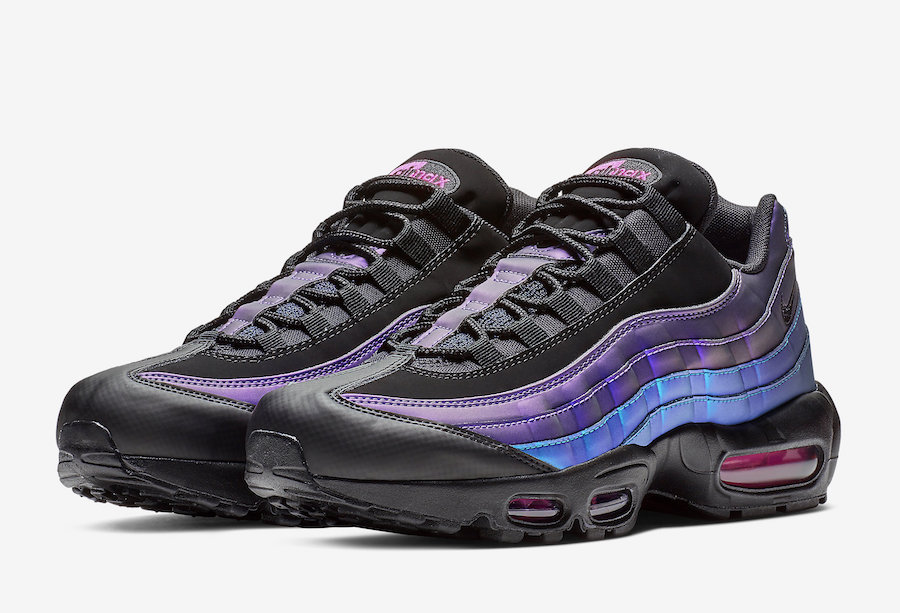 save off 1c8fc 82f40 Nike Air Max 95 Black Laser Fuchsia 538416-021 Release Date