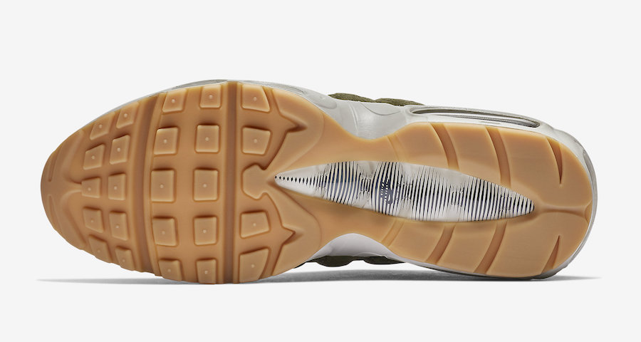 Nike Air Max 95 Olive Canvas AJ2018-300 Release Date