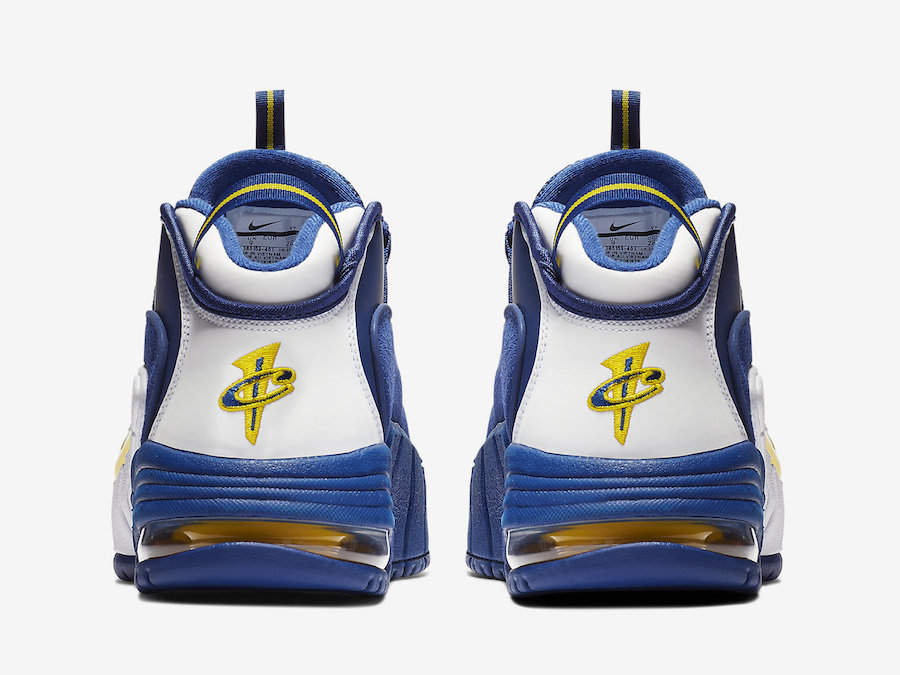 Nike Air Max Penny 1 Warriors 685153-401 Release Date