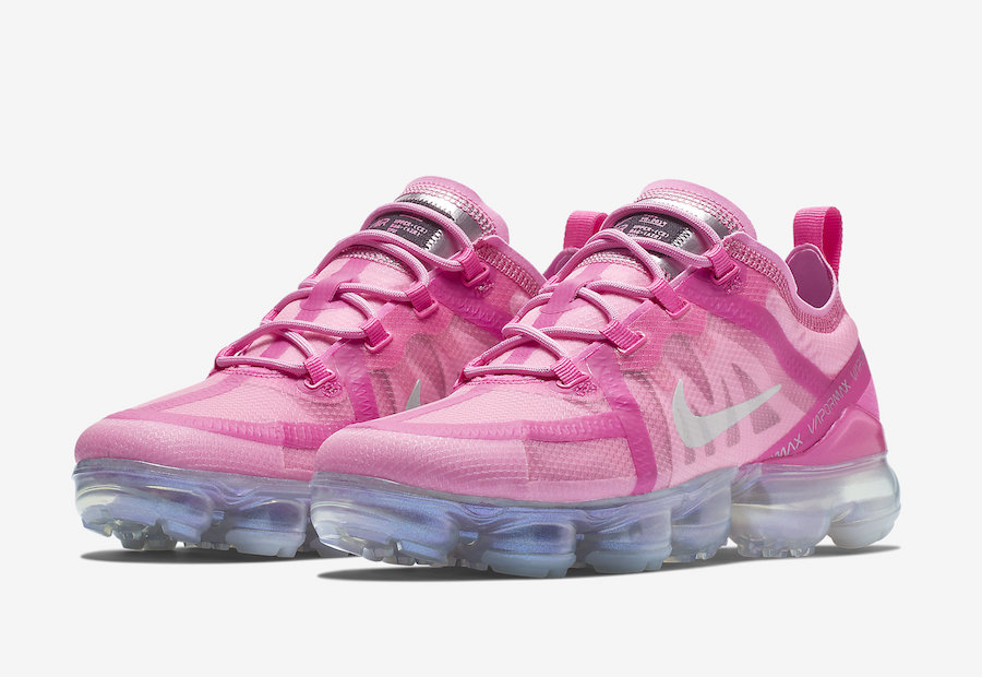 half off 213f7 28f3a Nike Air VaporMax 2019 Pink AR6632-600 Release Date - SBD