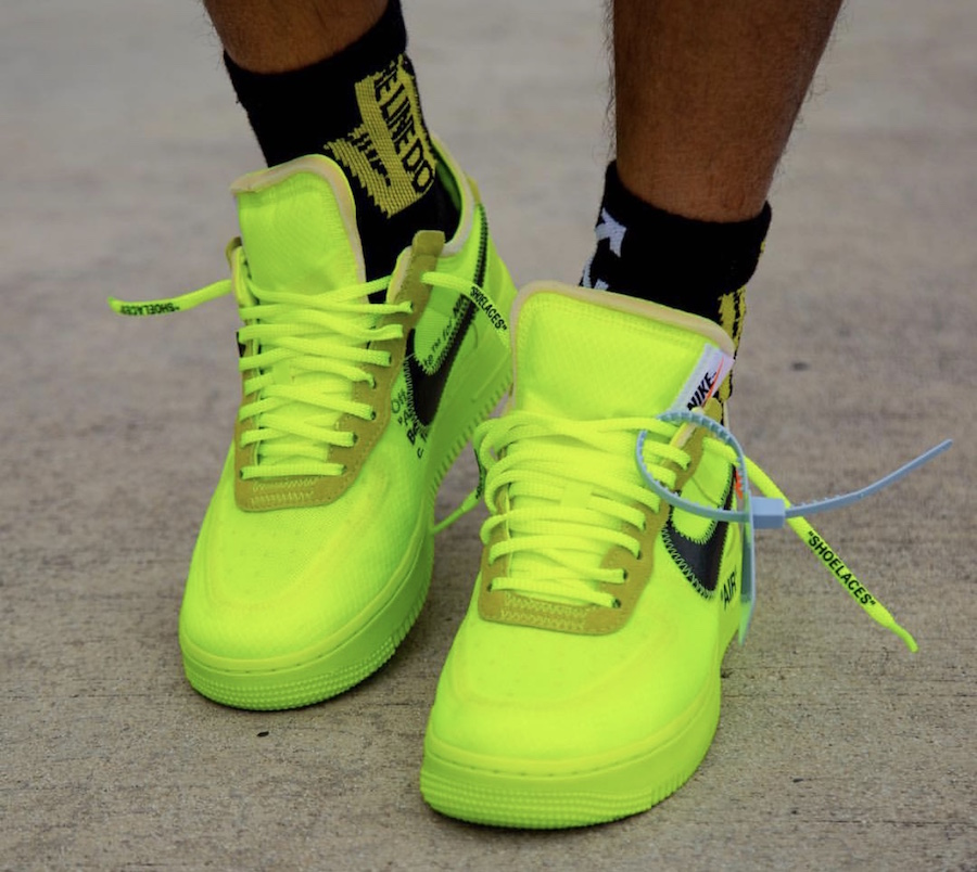 Off-White Air Force 1 Low Volt Release Date