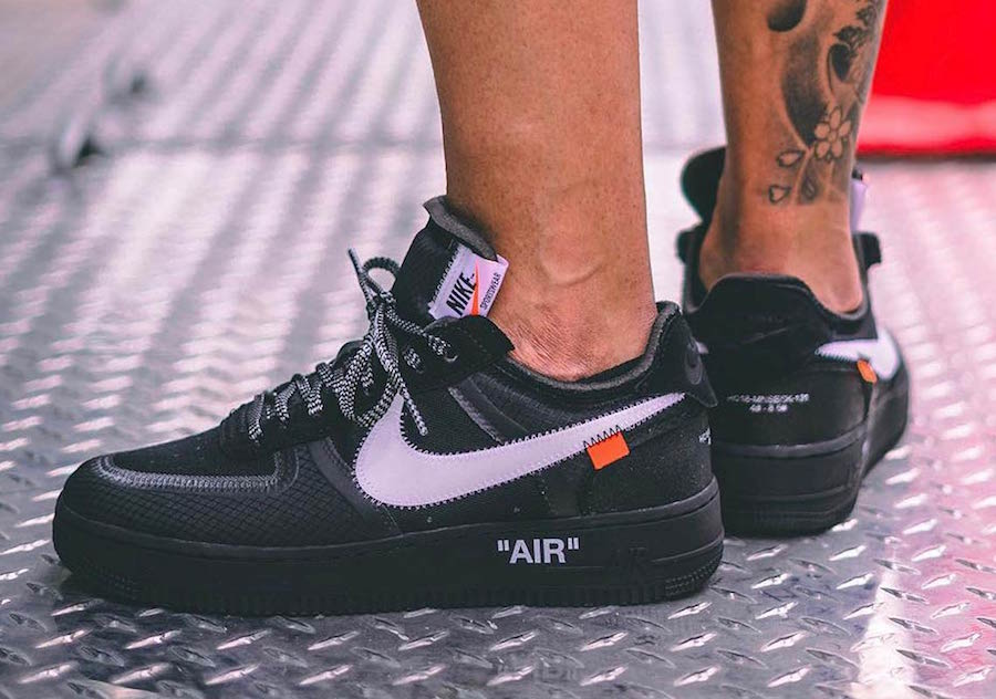 Off-White Nike Air Force 1 Low Black Release Date