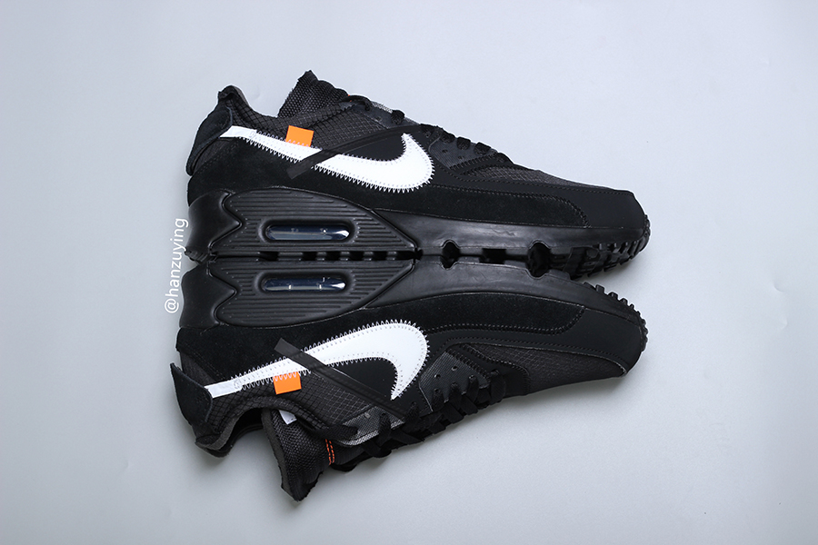 Off-White Nike Air Max 90 Black AA7293-001 Release Date