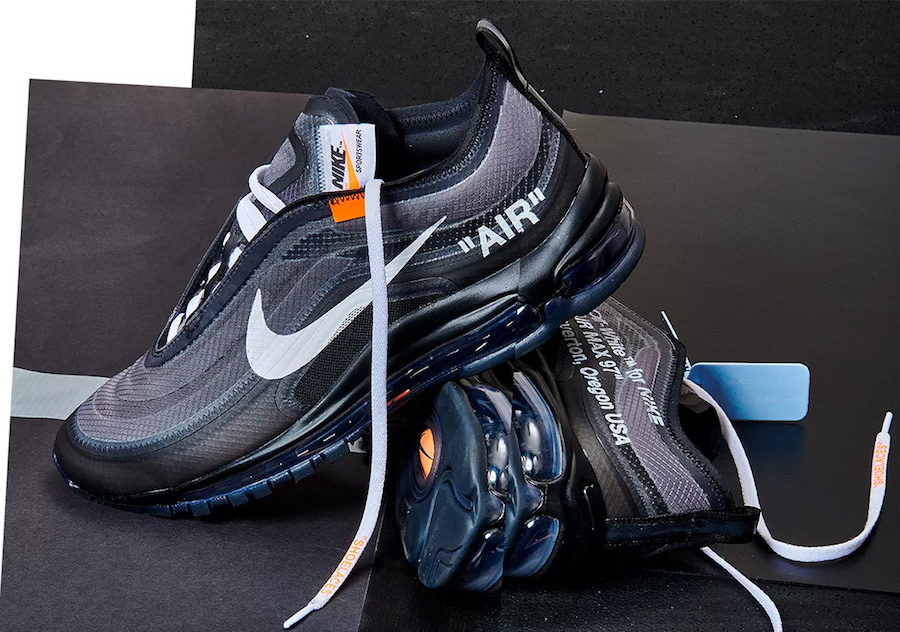 Off-White Nike Air Max 97 Black AJ4585-001 Release Date - SBD