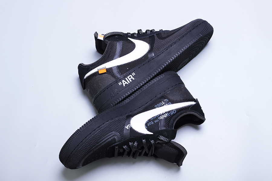 Off-White x Nike Air Force 1 Low Black AO4606-001 Release Date