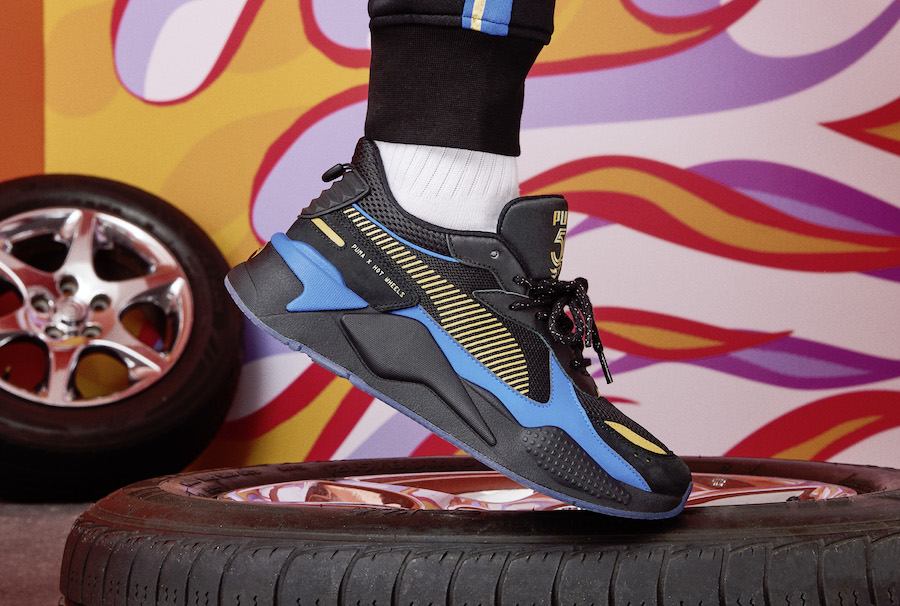 Hot Wheels PUMA RS-X Bone Shaker 370404-01 Release Date