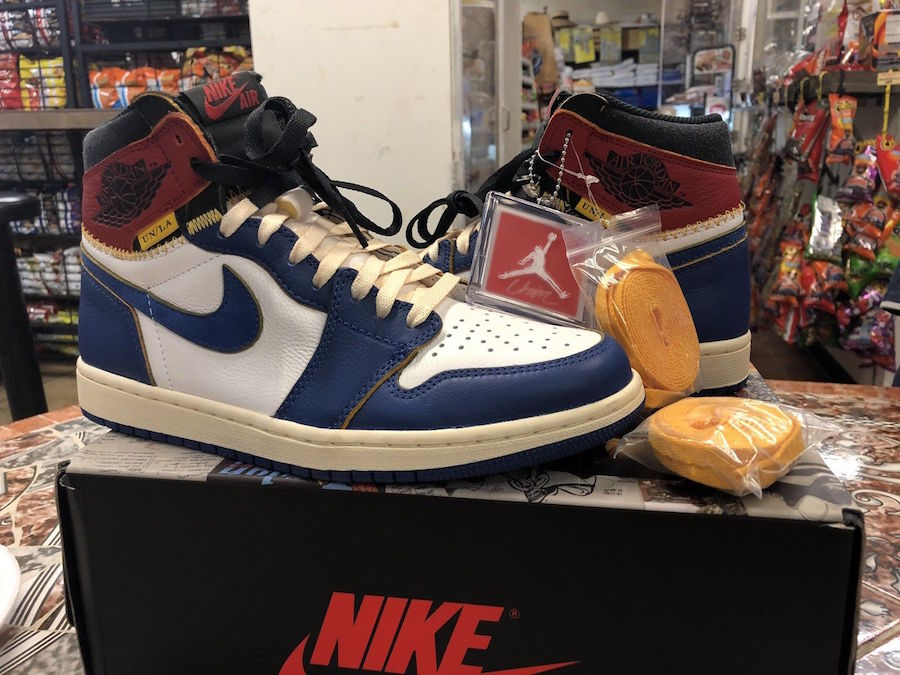 reputable site 91f54 2d347 Union Los Angeles Air Jordan 1 BV1300-146 Release Date - SBD
