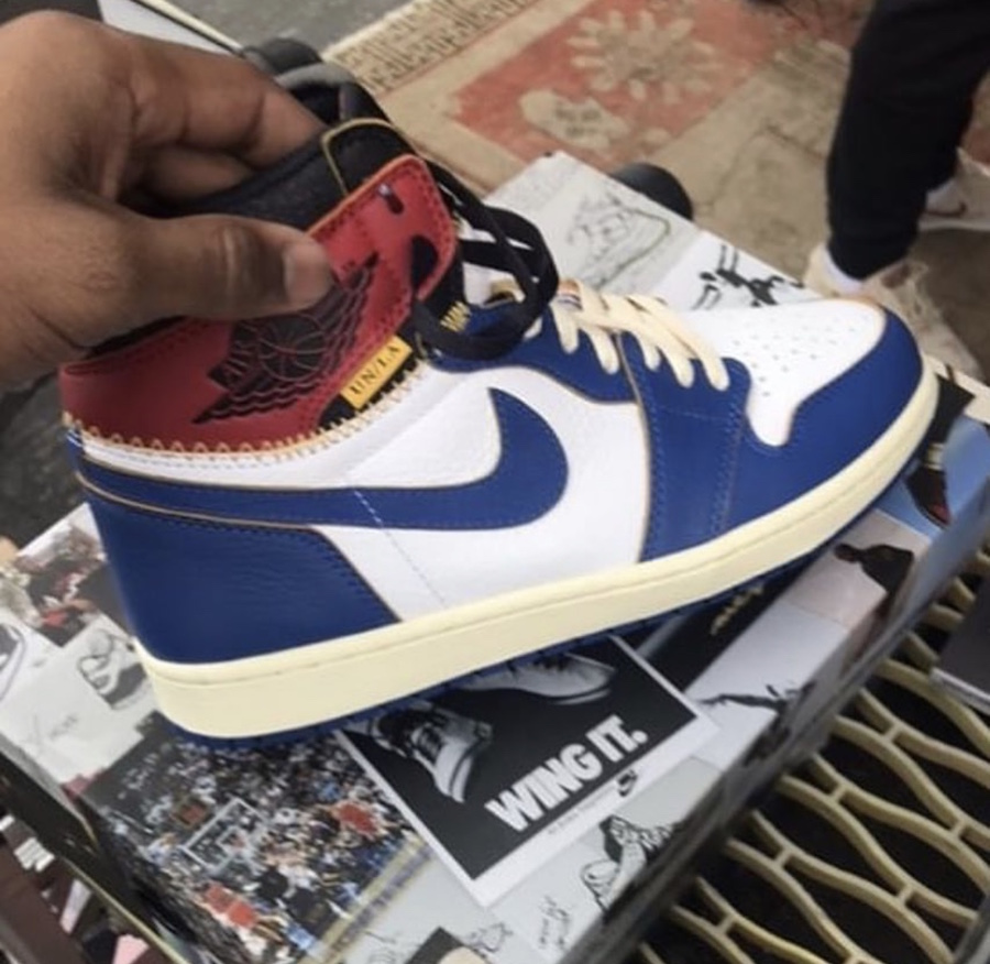 reputable site 692ad 0e0eb Union Los Angeles Air Jordan 1 BV1300-146 Release Date - SBD