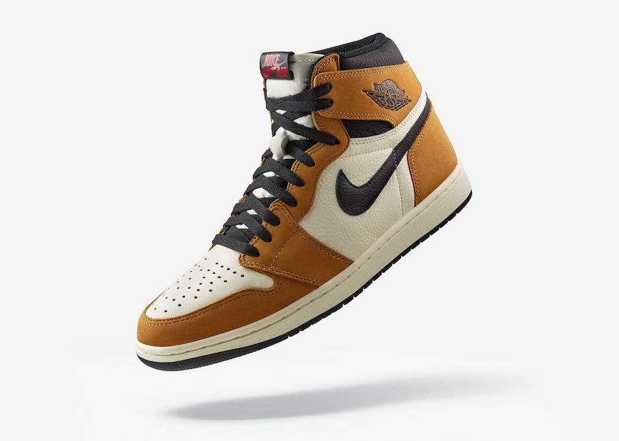 38ead62a0960 Air Jordan 1 High Rookie of the Year Golden Harvest Black Sail 555088-700  Release