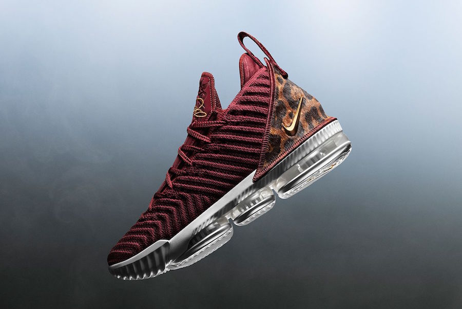 big sale 90bbf c4faf LeBron 16 King Team Red Metallic Gold Release Date. LeBron James will debut the  Nike ...