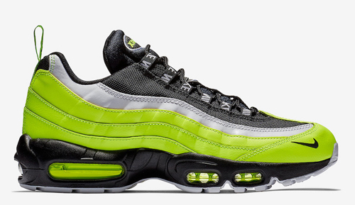 sports shoes b1cf3 704ef Nike Air Max 95. Color  Volt Black-Volt Glow-Barely Volt-White-Dark Grey  Style Code  538416-701. Release Date  November 10, 2018. Price   170 — Buy   eBay    ...