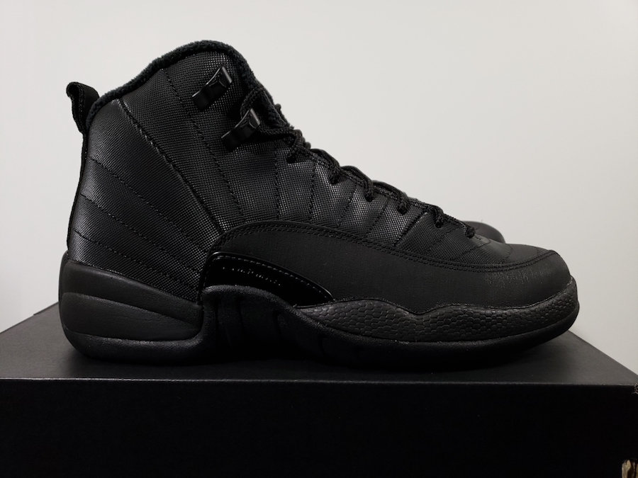 Air Jordan 12 GS Winter Black Anthracite Release Date