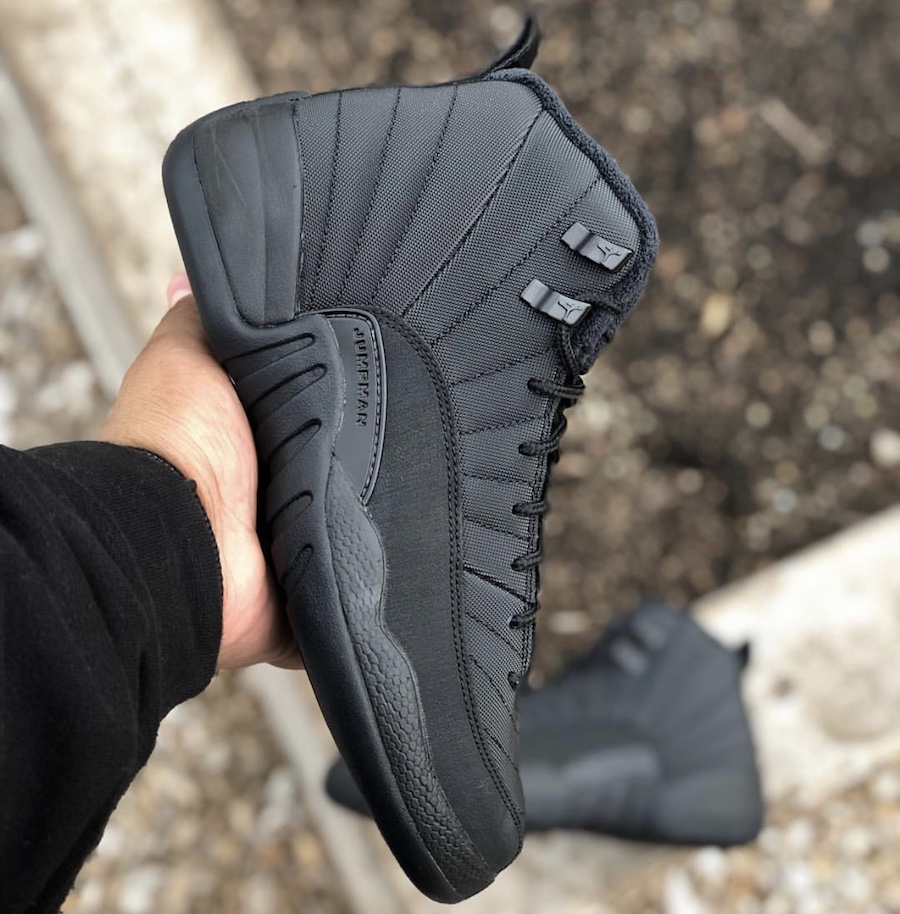 Air Jordan 12 GS Winterized Black Anthracite Release Date