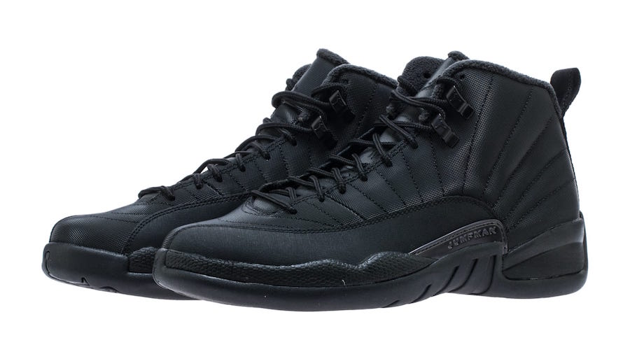 Air Jordan 12 Winter Black Release Date