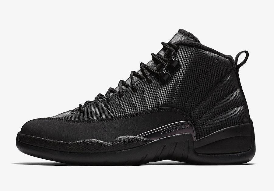 Air Jordan 12 Winterized Black BQ6851-001 Release Date Price