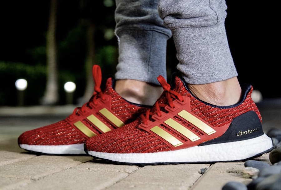 Game of Thrones adidas Ultra Boost Lannister Release Date On-Feet