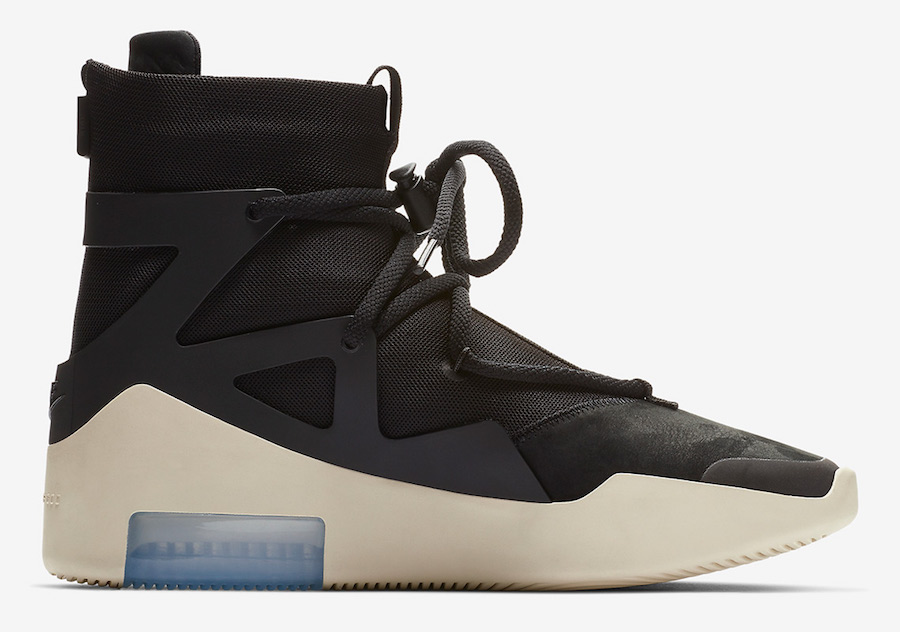 Nike Air Fear of God 1 Black AR4237-001 Release Date Price