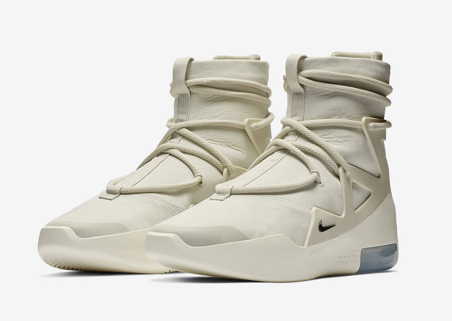 Nike Air Fear of God 1 Light Bone AR4237-002 Release Date
